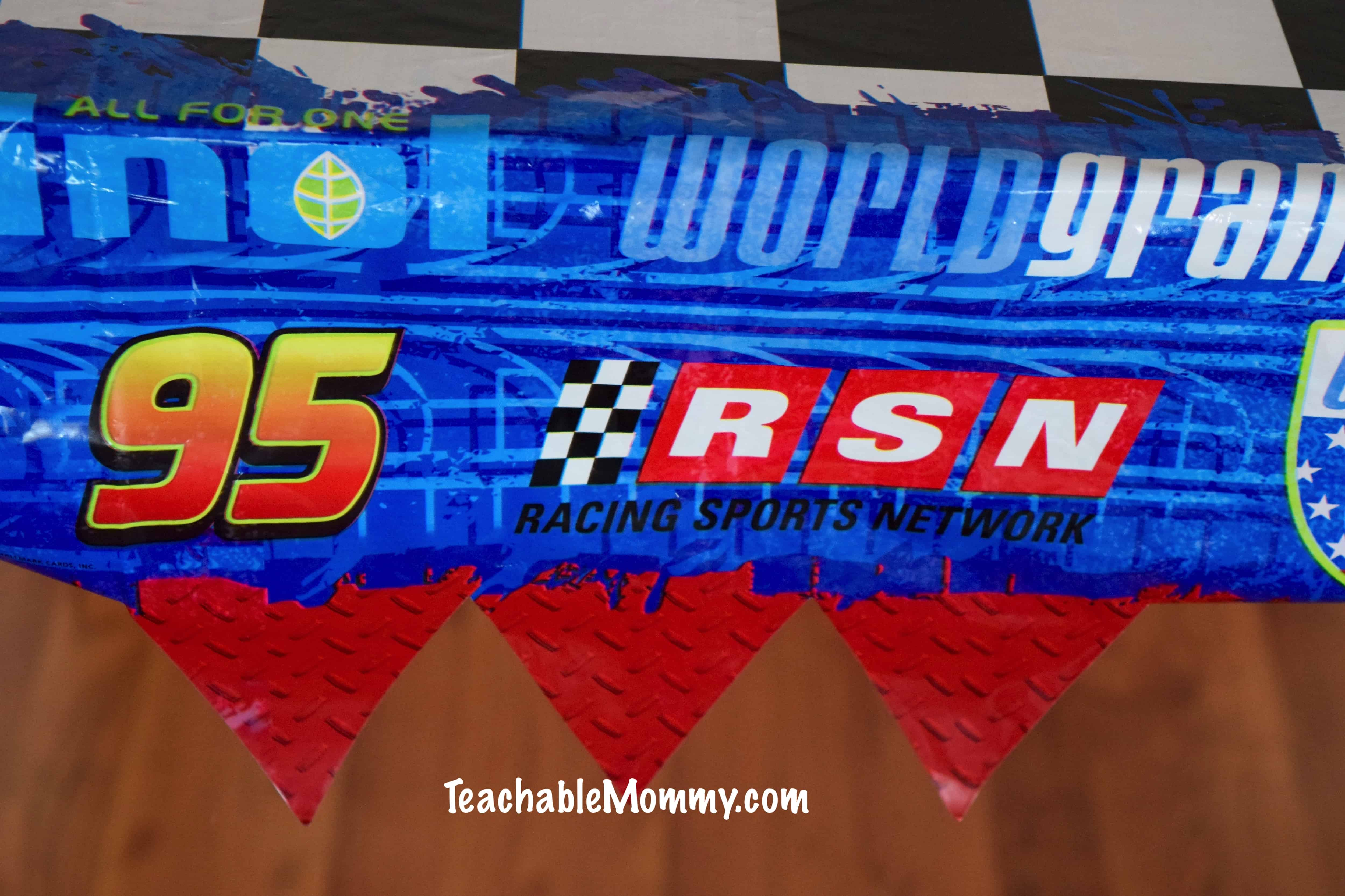 Cars Party Decorations Cars And Planes Birthday Party Decorations And Games Teachable