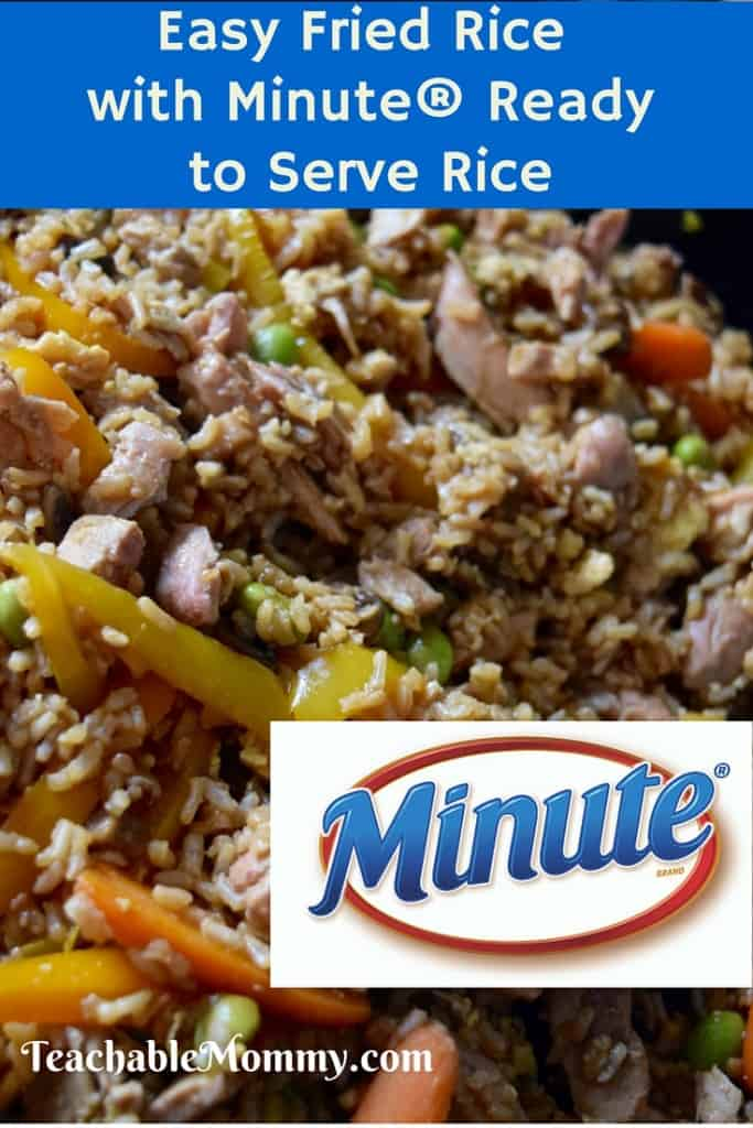 Easy Fried Rice, Healthy Fried Rice, AD, CelebrateMinuteRice, @MinuteRiceUS
