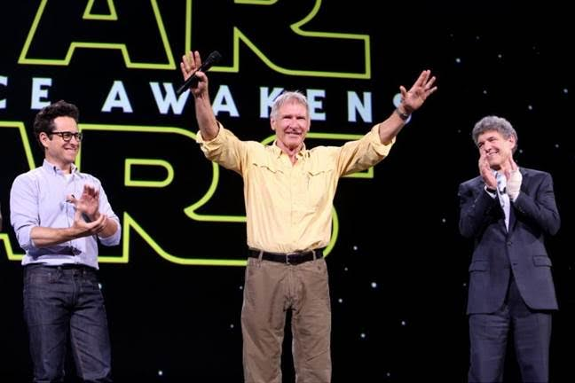 D23 Expo, #D23Expo, Star Wars The Force Awakens, #TheForceAwakens, #StarWars