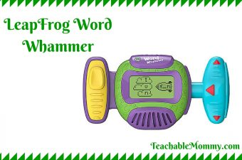Learning is Fun with the LeapFrog Word Whammer!