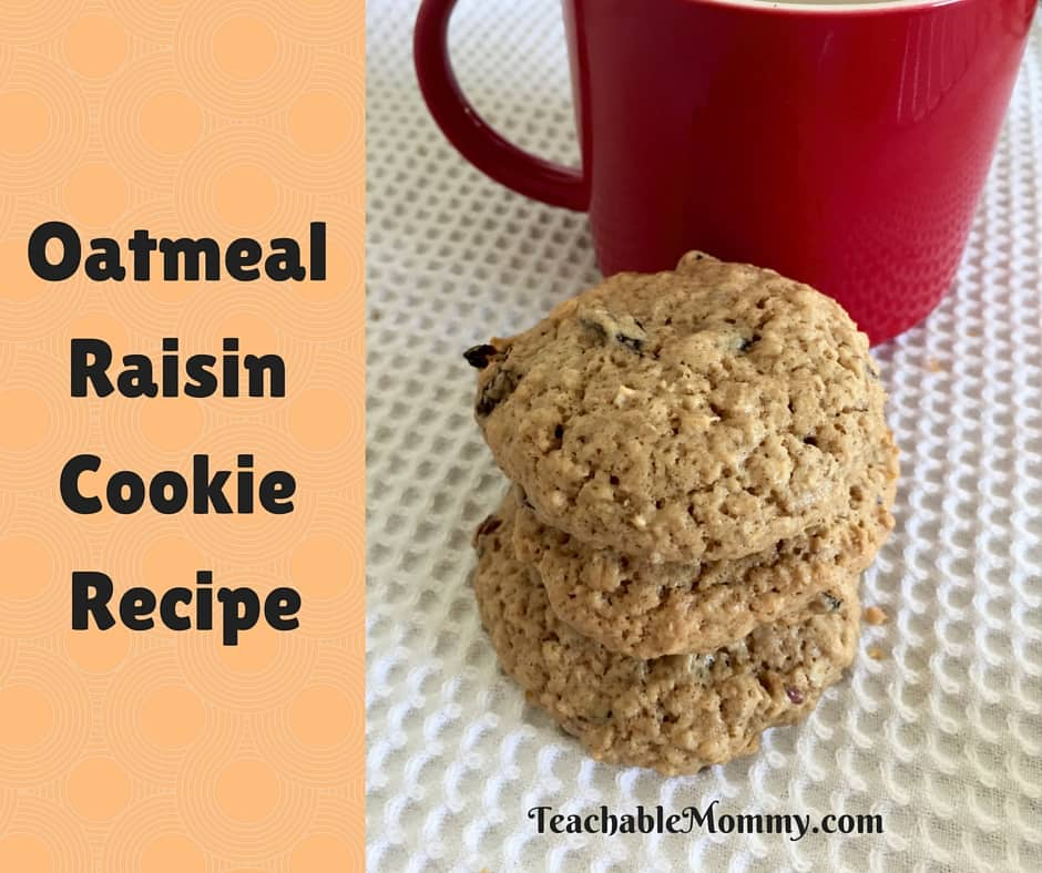 Oatmeal Raisin Cookie Recipe, Oatmeal Raisin Cookies, Healthy Oatmeal Raisin Cookie, Oatmeal Recipe