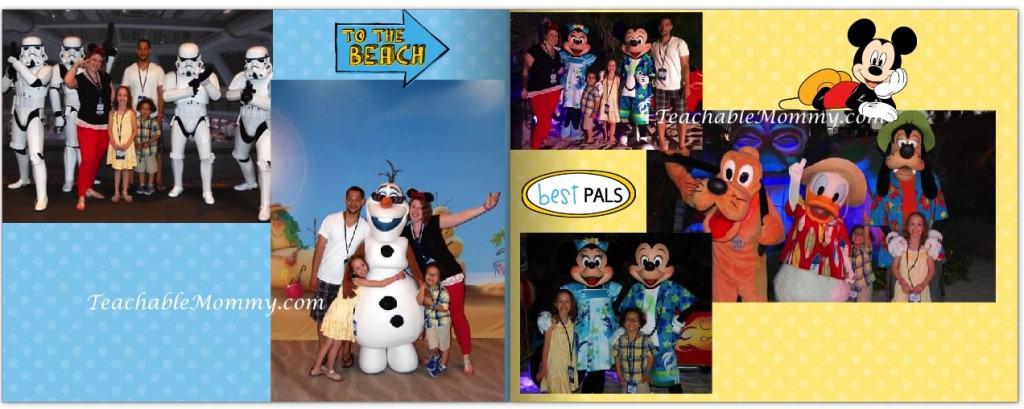 Disney themed Shutterfly Photo Book,