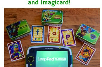Interactive Fun with LeapPad Platinum and Imagicard!
