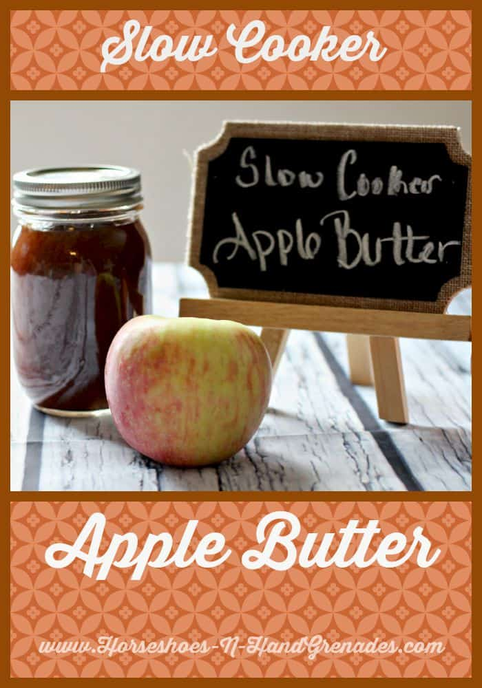 Slow Cooker Apple Butter, Fall Recipes