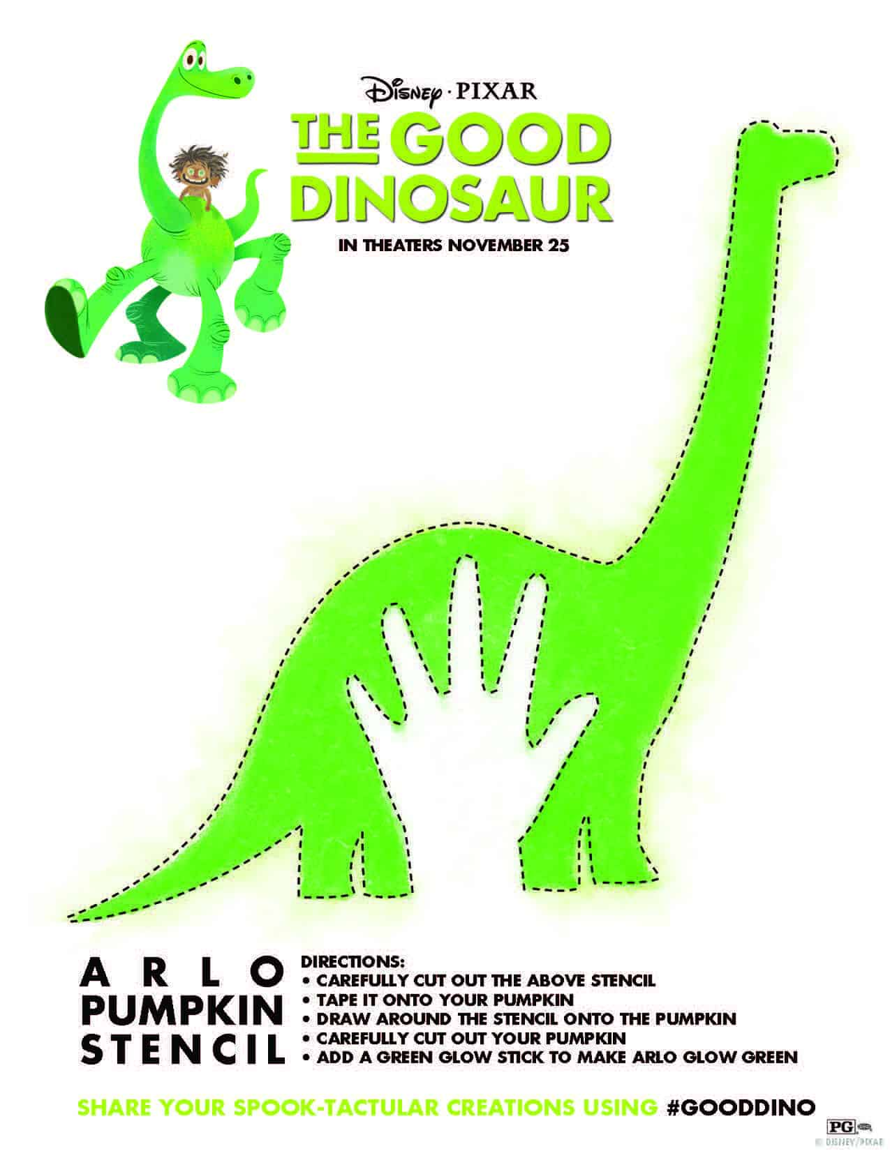 photograph relating to Dinosaur Cutouts Printable called The Great Dinosaur no cost printable, absolutely free pursuits, The Optimistic