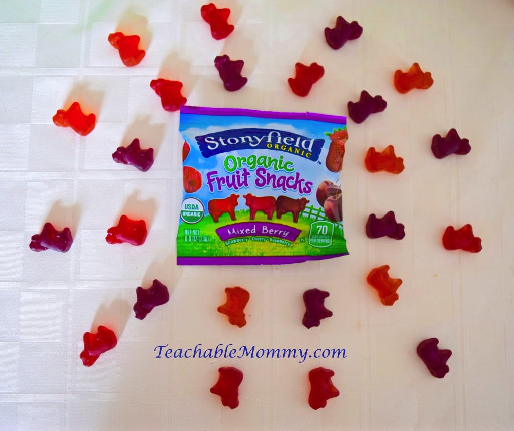 Stonyfield Fruit Snacks, Lunchbox ideas, Organic Fruit Snacks