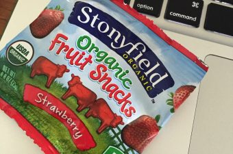 The New Stonyfield Fruit Snacks!