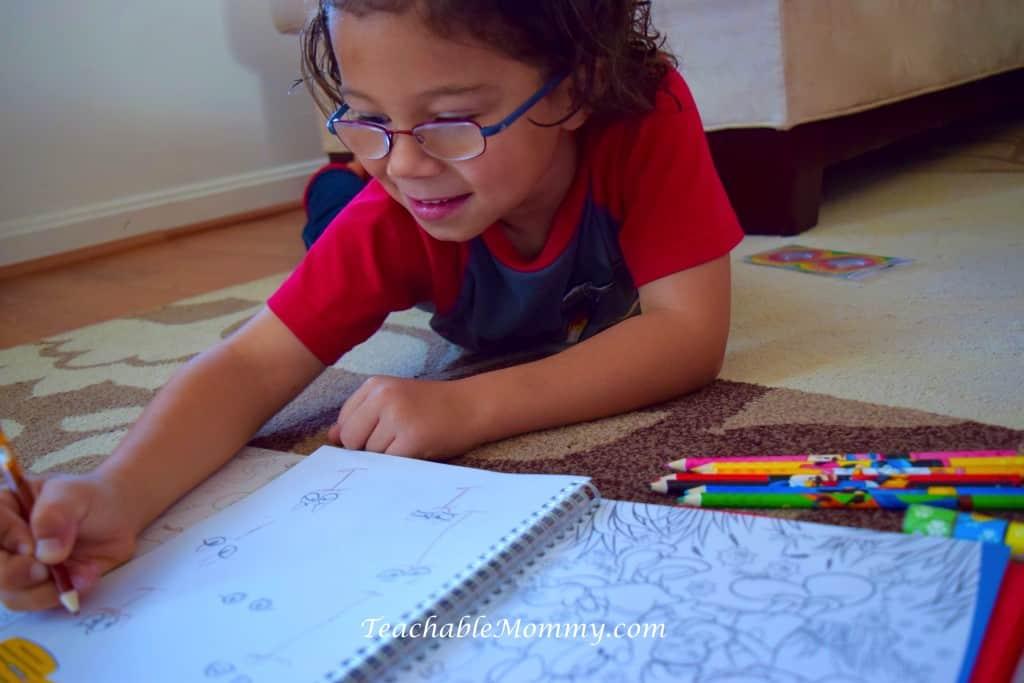 Disney Imagicademy Activity Books, educational gift ideas, homeschool