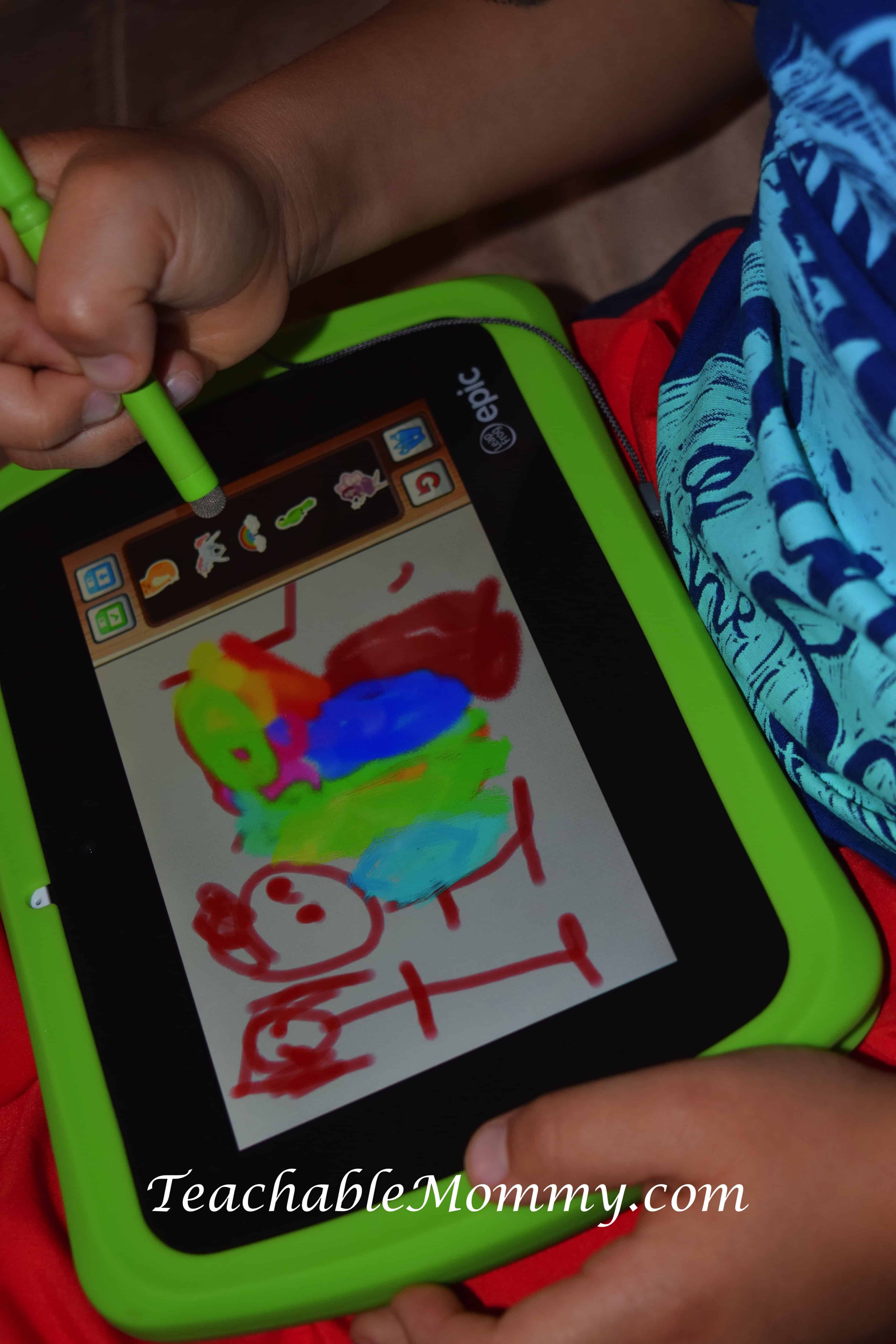 LeapFrog Epic Tablet, Kid Tablet, Kid Safe Tablet, LeapFrog