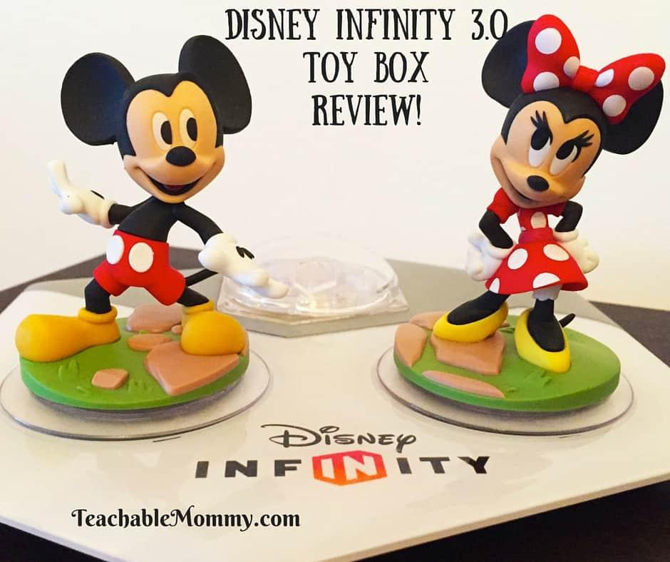 Disney Infinity 3.0 Toy Box Features, Disney Infinity 3.0