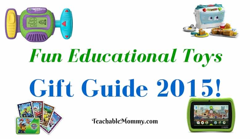 LeapFrog gift guide, educational gift guide, #LeapFrogMomSquad, Educational Gift Guide, Educational Toys