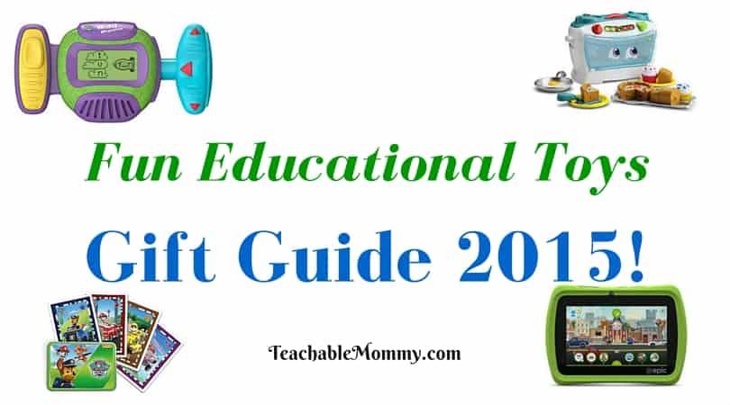 LeapFrog gift guide, educational gift guide, #LeapFrogMomSquad, Educational Gift Guide, Educational Toys