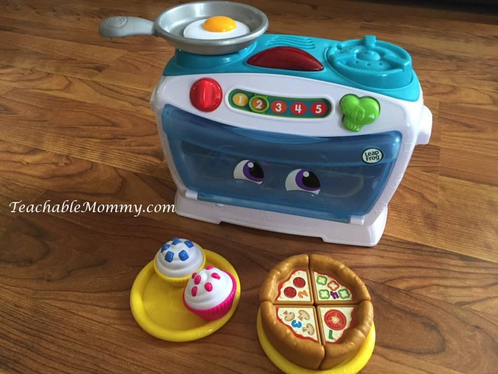 Number Lovin' Oven, LeapFrog gift guide, educational gift guide, #LeapFrogMomSquad, Educational Gift Guide, Educational Toys