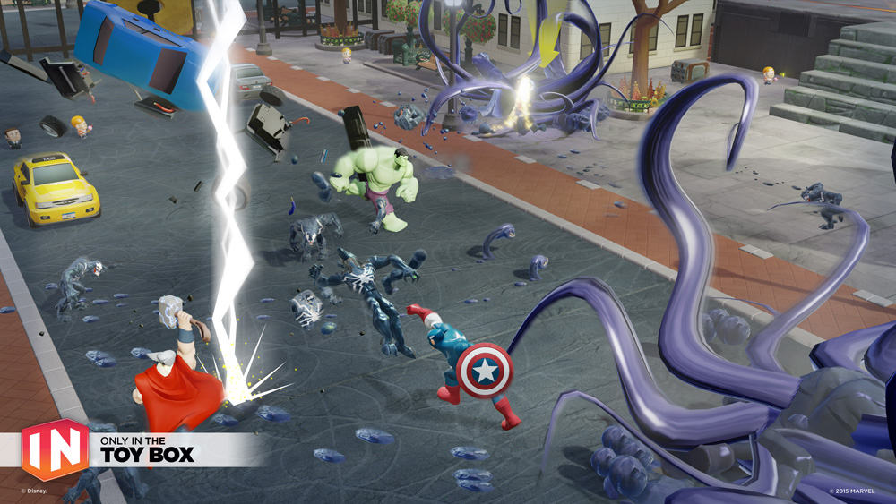 Disney Infinity 3.0 Toy Box Takeover
