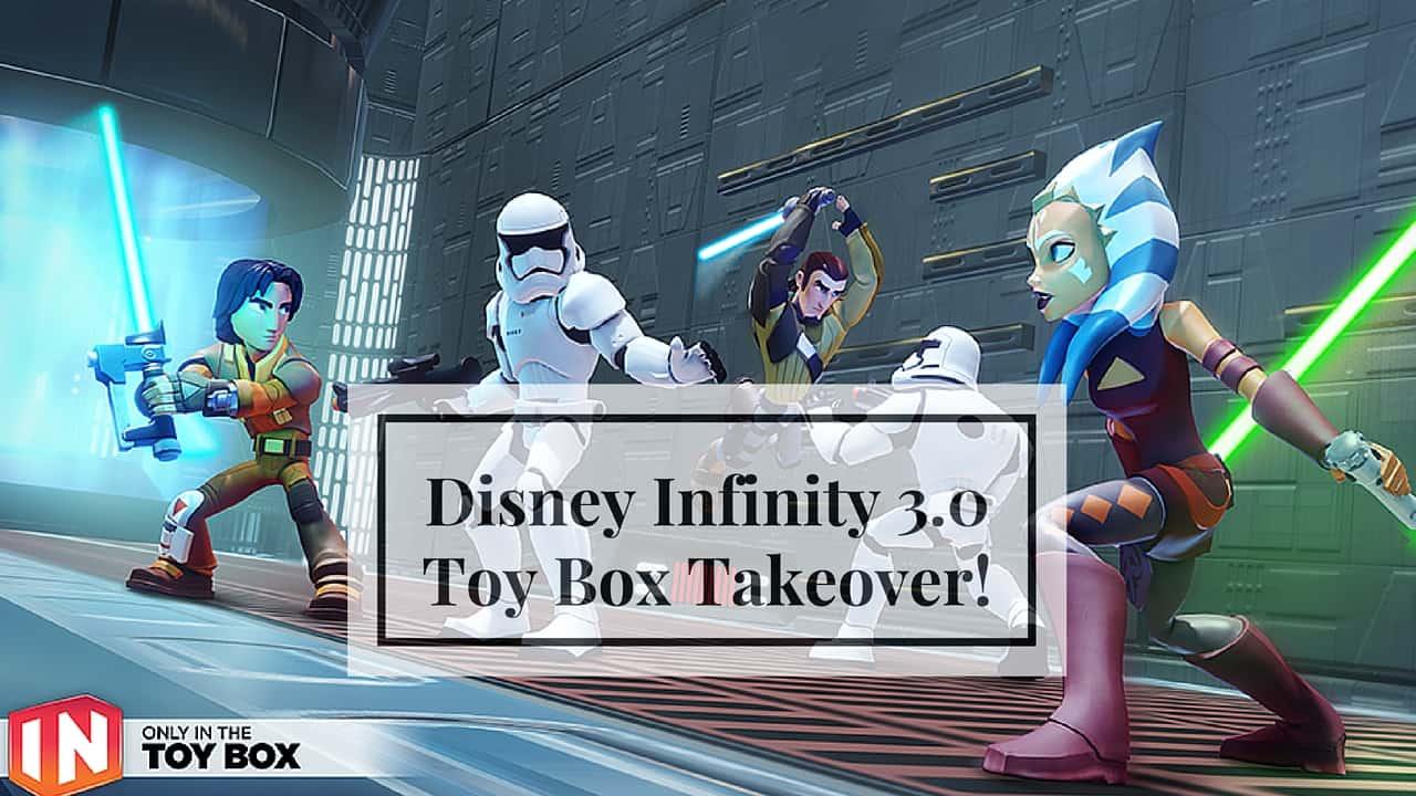 how to play disney infinity toy box