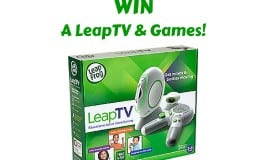 Win a LeapFrog LeapTV and Games!