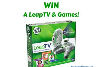 Win a LeapFrog LeapTV and Games
