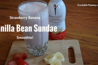 Skinnygirl Protein Shakes, Protein Smoothie Recipe, #SkinnygirlProtein, #SGSavvySnacker, spon