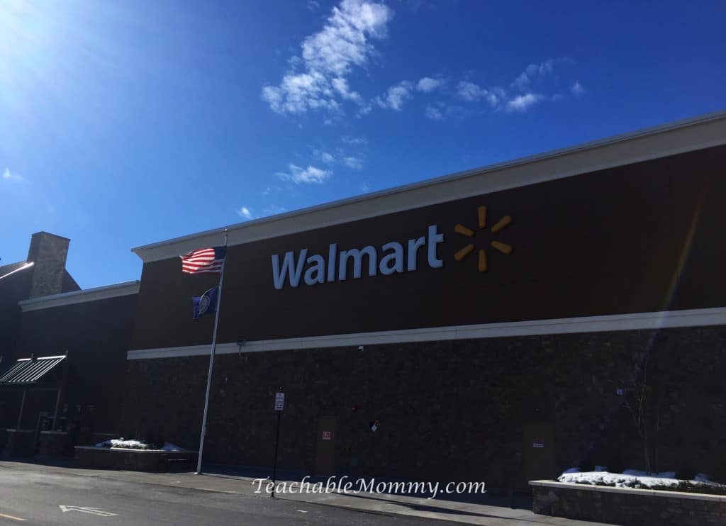 Stonyfield Organic Yogurt at Walmart