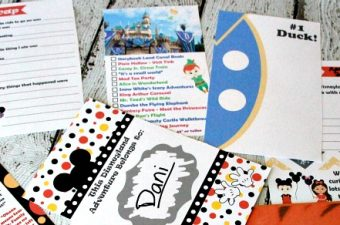 2016 Unofficial Disneyland Activity & Autograph book by BusyMomsHelper, giveaway