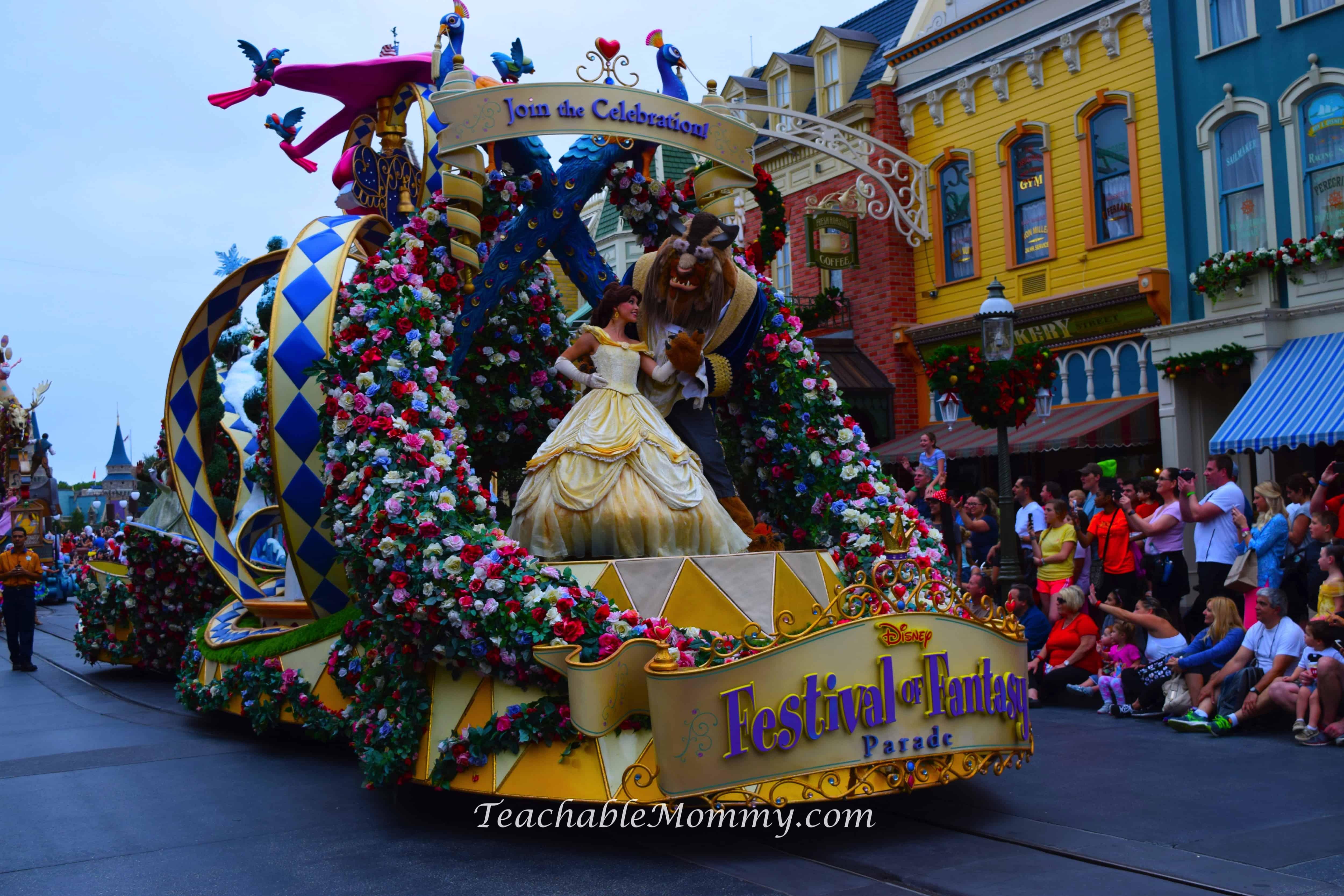 Fancy Dining Room Magic Kingdom Festival Of Fantasy Parade Teachable Mommy