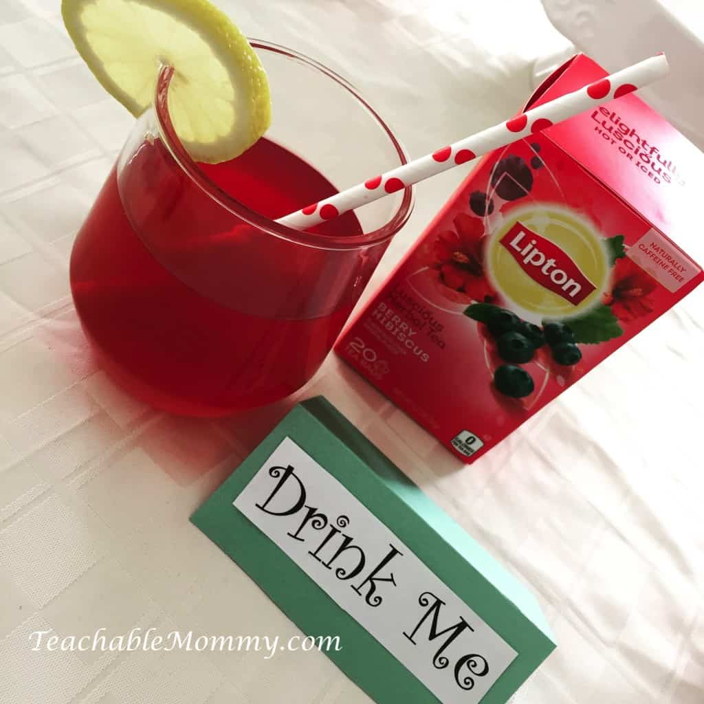 Hibiscus Arnold Palmer recipe, tea recipe, brunch ideas, #LiptonTeaTime #Sponsored