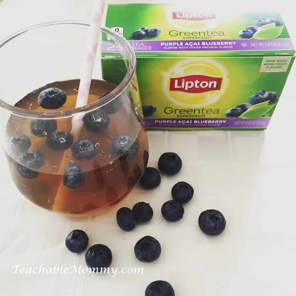 Green Tea recipe, tea recipe, brunch ideas, #LiptonTeaTime #Sponsored