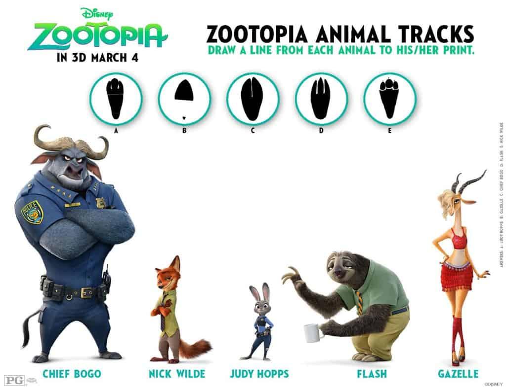 Zootopia Free Printable, Zootopia Coloring Sheets, Zootopia Free Activites, Free Zootopia Printable