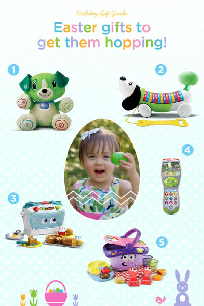LeapFrog Easter Gift Guide, Easter Basket Ideas
