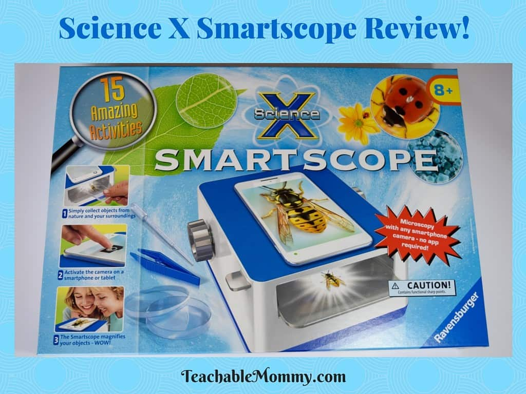 Ravensburger Science X Smartscope, Smartscope, Science Activities for kids, Homeschool science, Science for kids