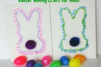 Easter Craft, Easter Bunny Craft, Easy Easter Craft for kids, Easter Craft for kids, Easter Bunny Craft for Kids