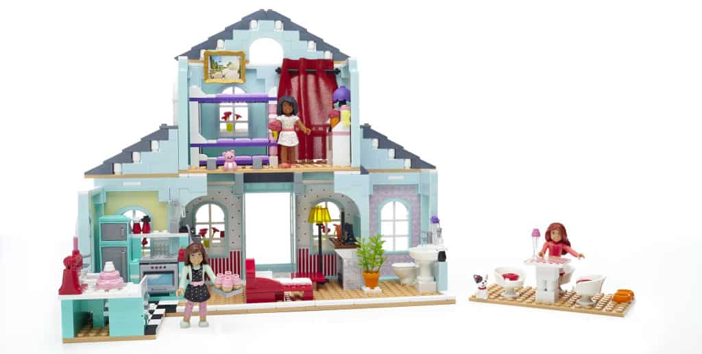 Grace's 2-in-1 Buildable Home, unboxing the new American Girl Mega Bloks, American Girl toys, American Girl review, Top Toys for Girls, American Girl Dolls