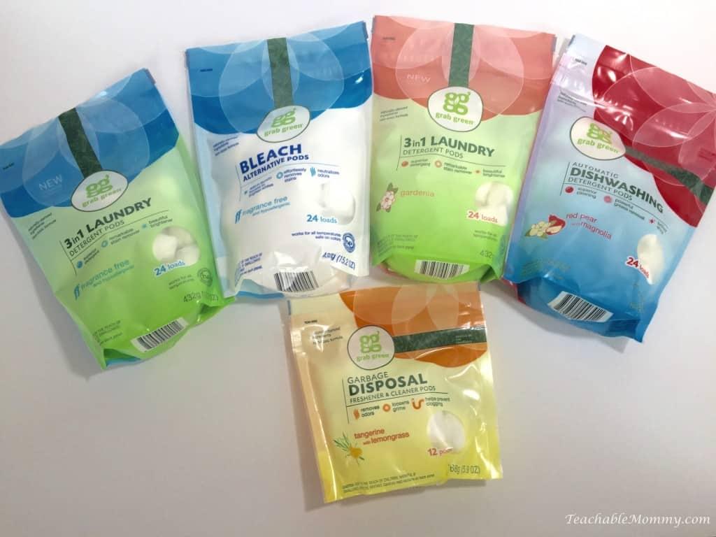 Grab Green, natural cleaners, green cleaners, eco-friendly cleaners, #grabgreen #momsmeet sponsored
