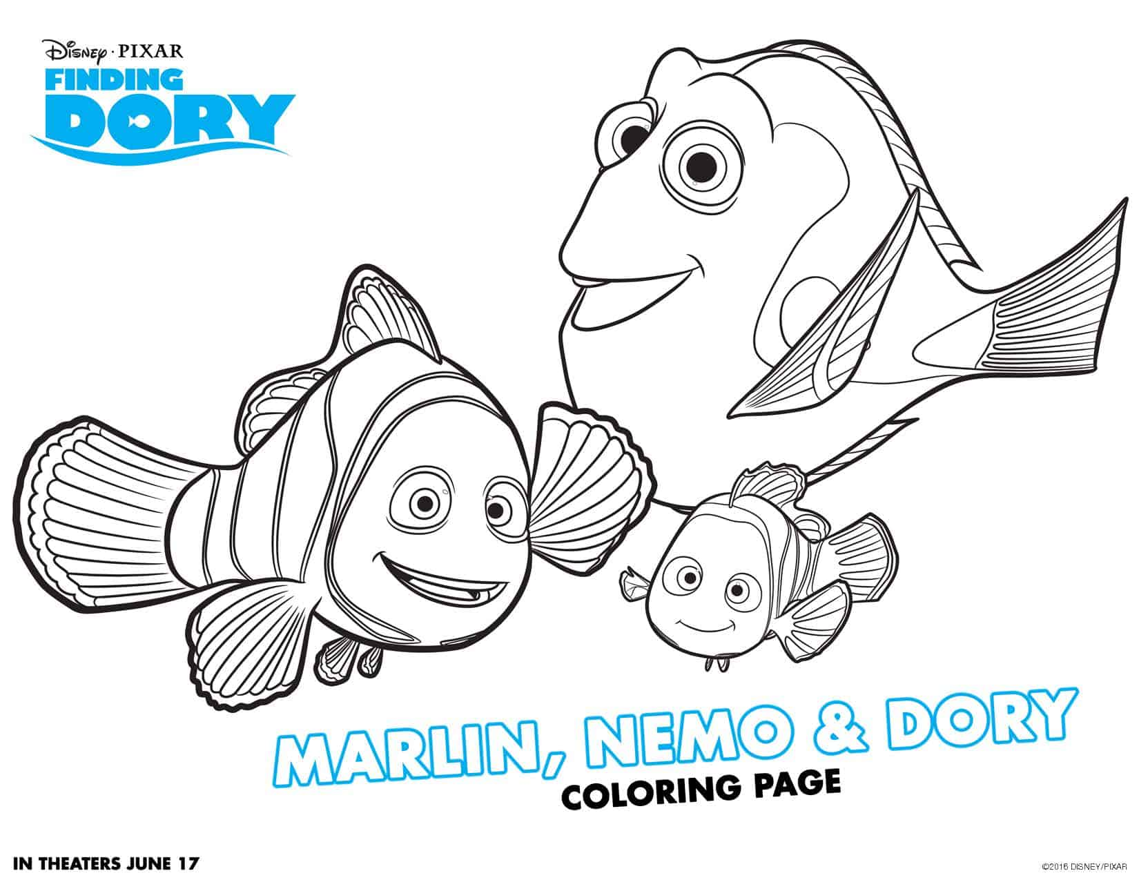 Finding Dory Free Printable Activities! - Teachable Mommy