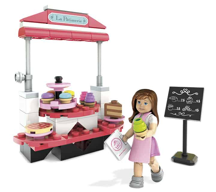 Grace's Pastry Cart, unboxing the new American Girl Mega Bloks, American Girl toys, American Girl review, Top Toys for Girls, American Girl Dolls