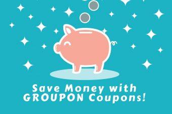 Saving Money with Groupon Coupons, Saving money, #GrouponCoupons, #ad, #spon,