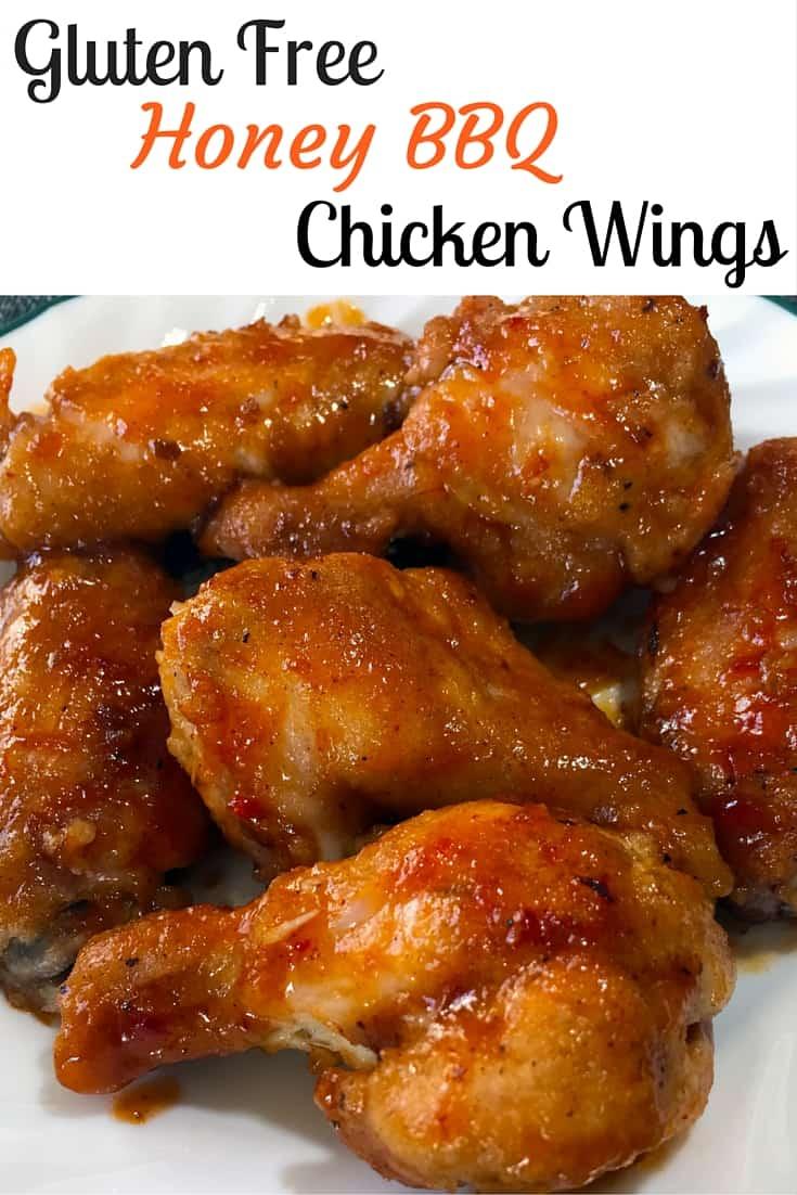 Best Honey BBQ Chicken Wings, Gluten Free Wings, Honey BBQ Wings, Oven Baked Wings, Gluten Free Chicken, Gluten free recipes