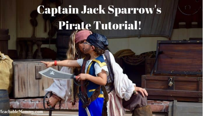 Captain Jack Sparrow's Pirate Tutorial!