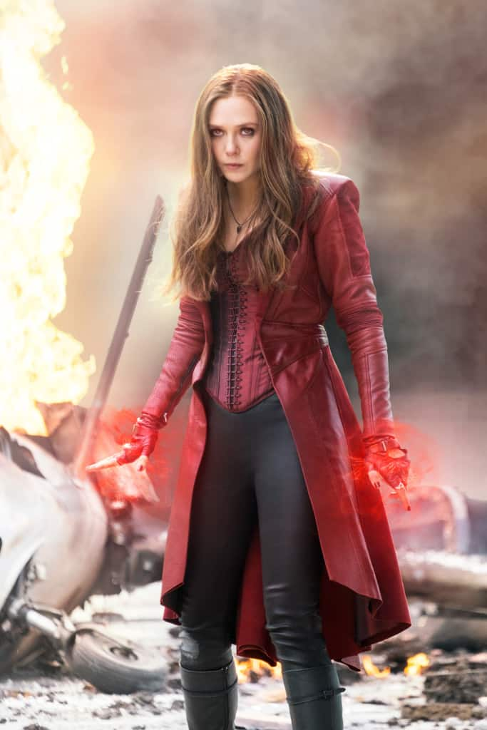 Marvel's Captain America: Civil War..Scarlet Witch/Wanda Maximoff (Elizabeth Olsen)..Photo Credit: Zade Rosenthal..© Marvel 2016