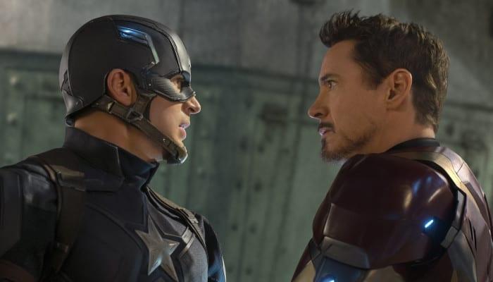 Superhero Showdown of Captain America Civil War