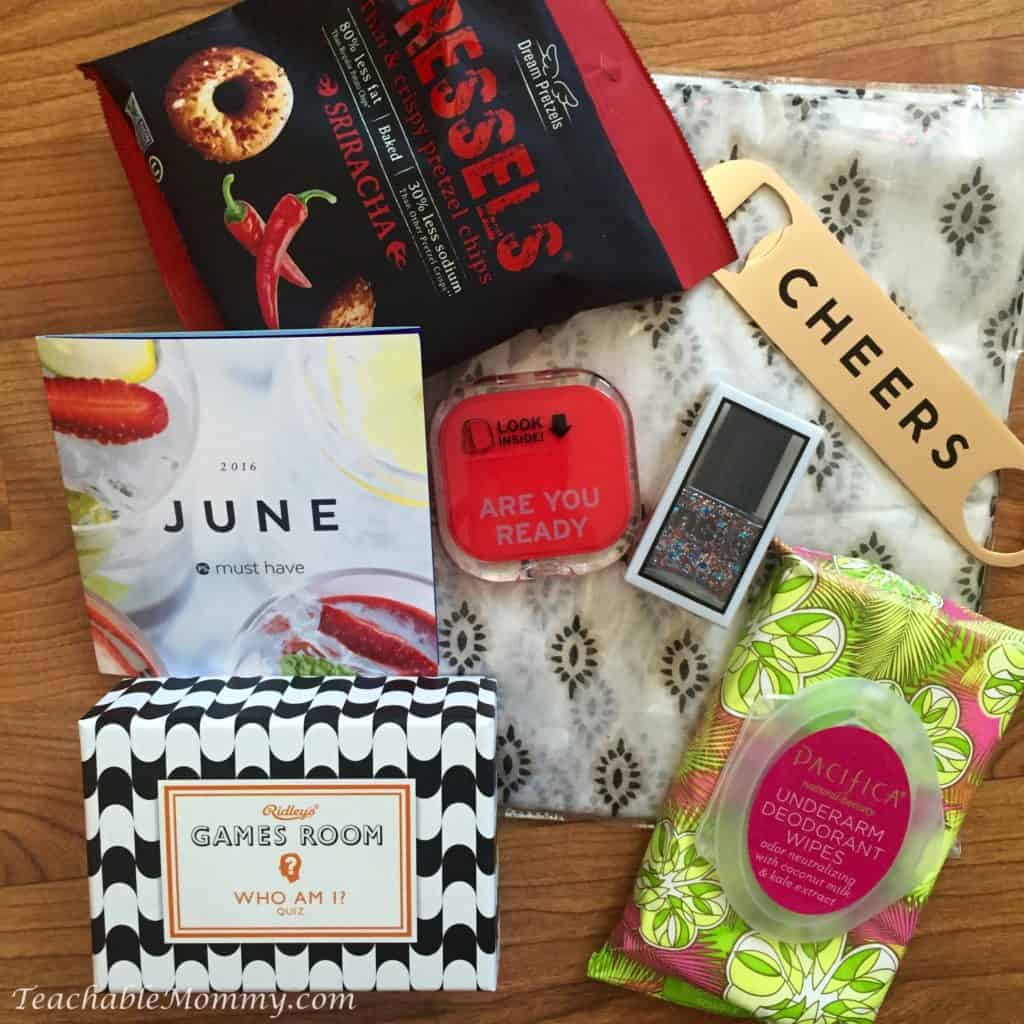 PopSugar Must Have Box June 2016