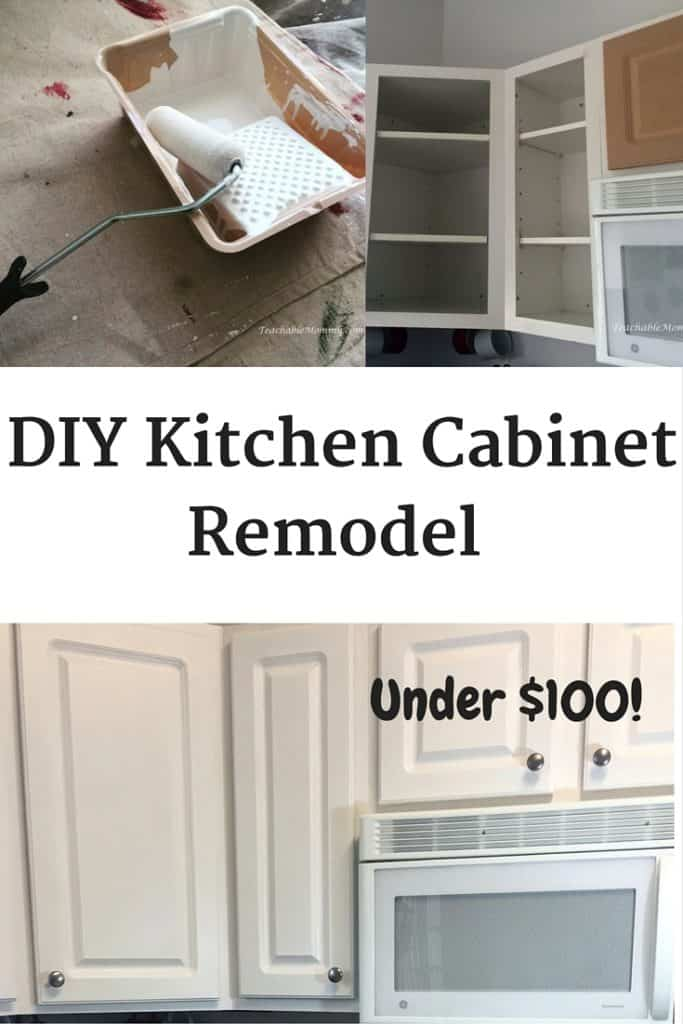 DIY Kitchen Cabinet Remodel