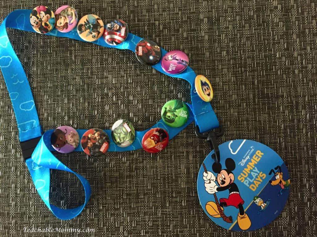 Disney Store Summer Play Days 2016
