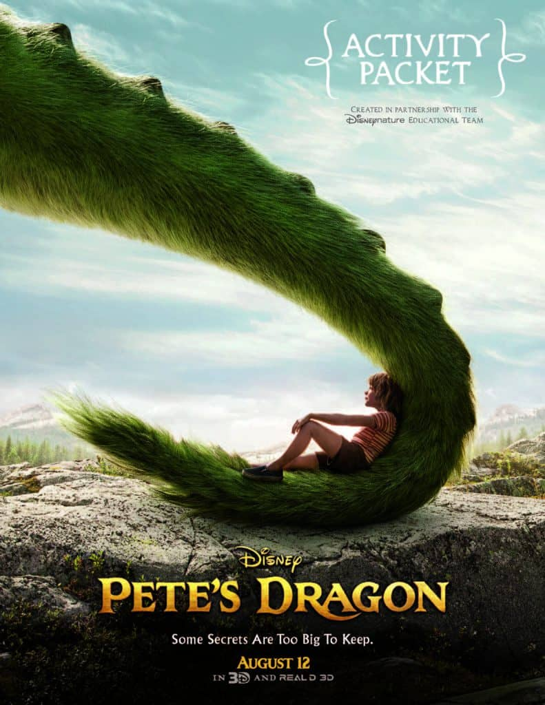 Pete's Dragon Free Family Activity Kit