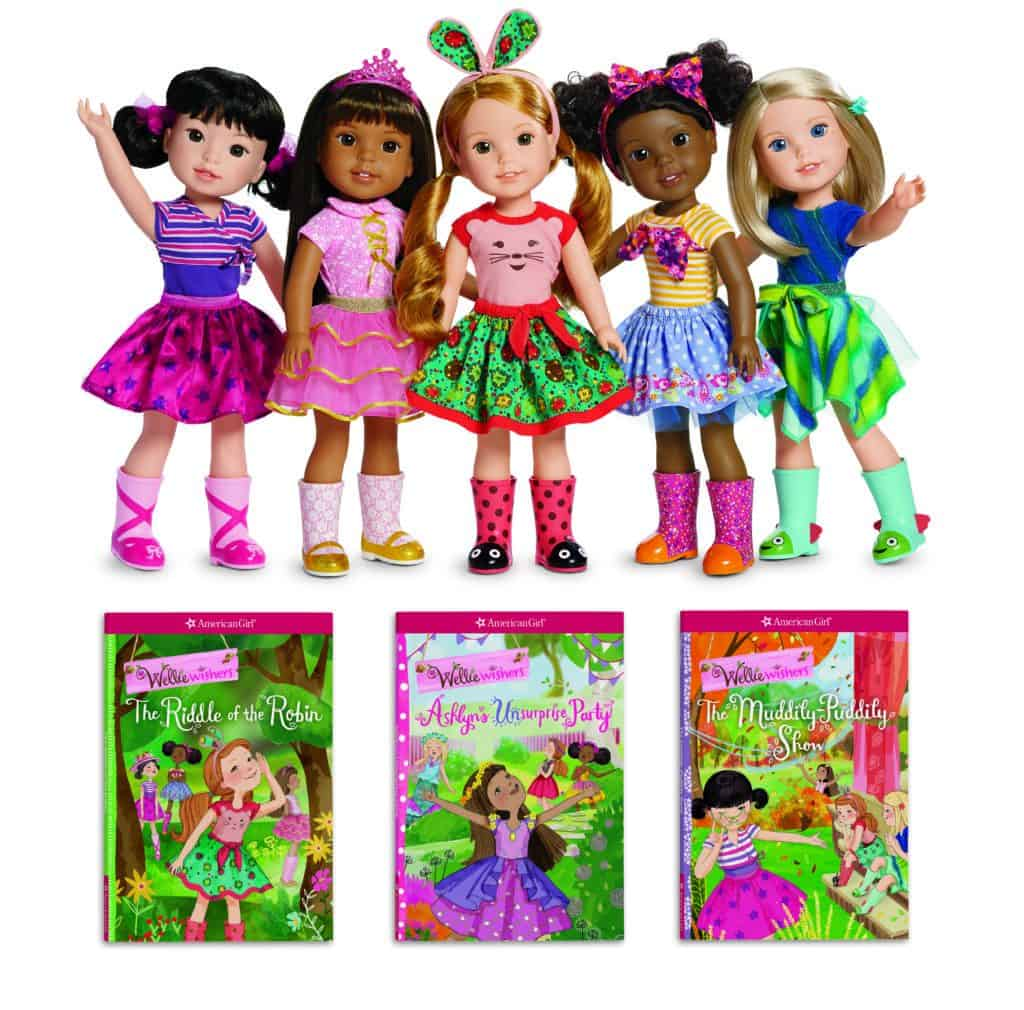 WellieWishers Dolls and Books Image-HR