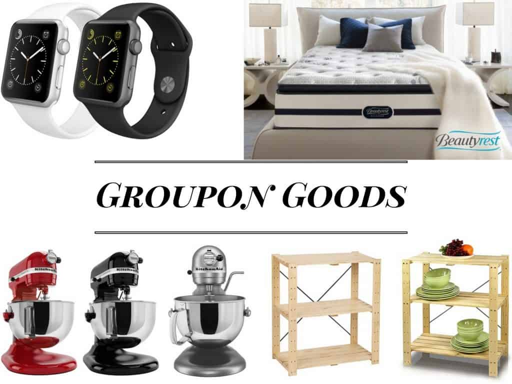 Save money with Groupon Goods
