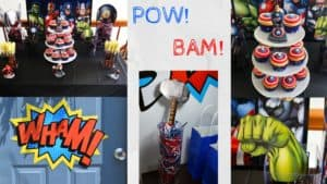 Avengers Birthday Party Ideas, Avengers Birthday Party, Avengers Party ideas, Captain America Birthday Party