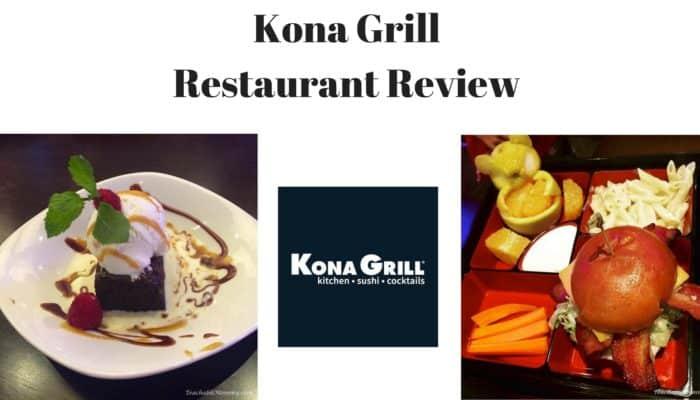 Kona Grill Restaurant Review