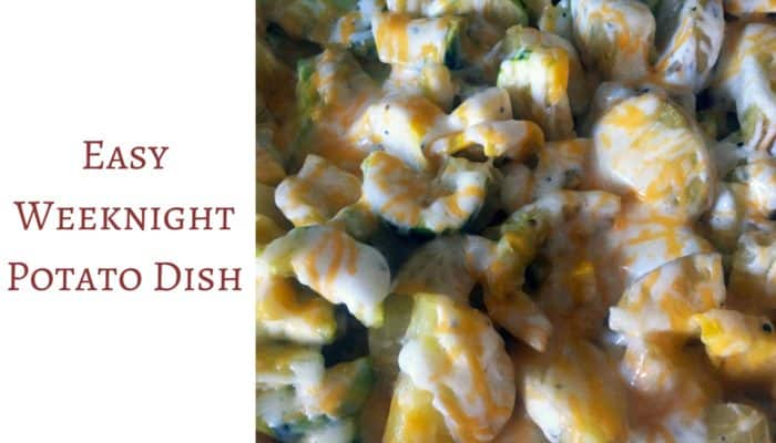 Easy Weeknight Potato Dish