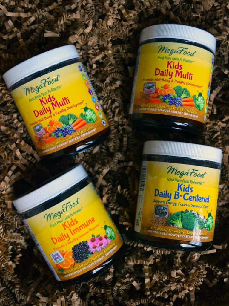 MegaFood Kids Nutrient Booster Powders